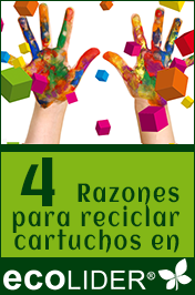 4 razones para reciclar los cartuchos en Ecolider Almazora
